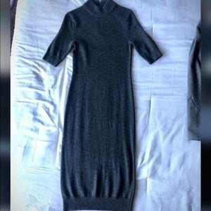 ❄️Gorgeous MK wool blend grey sweater dress - Sz S